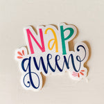 Nap Queen Sticker