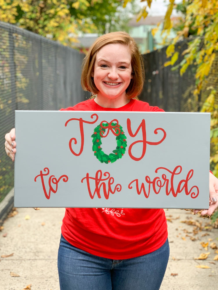 Joy to the World Painting