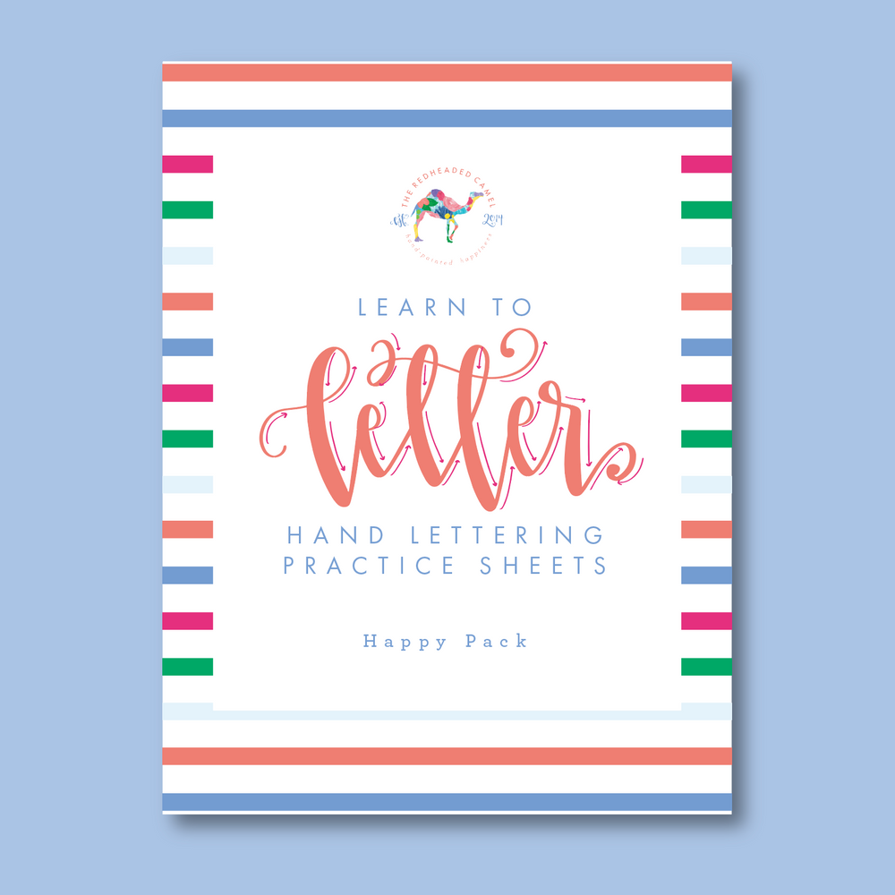 Learn to Letter - Happy Pack