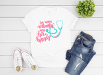 Proverbs 31:13 Nurses Short Sleeve Tee