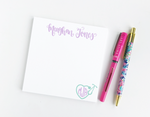Personalized Stethoscope Notepad with Monogram