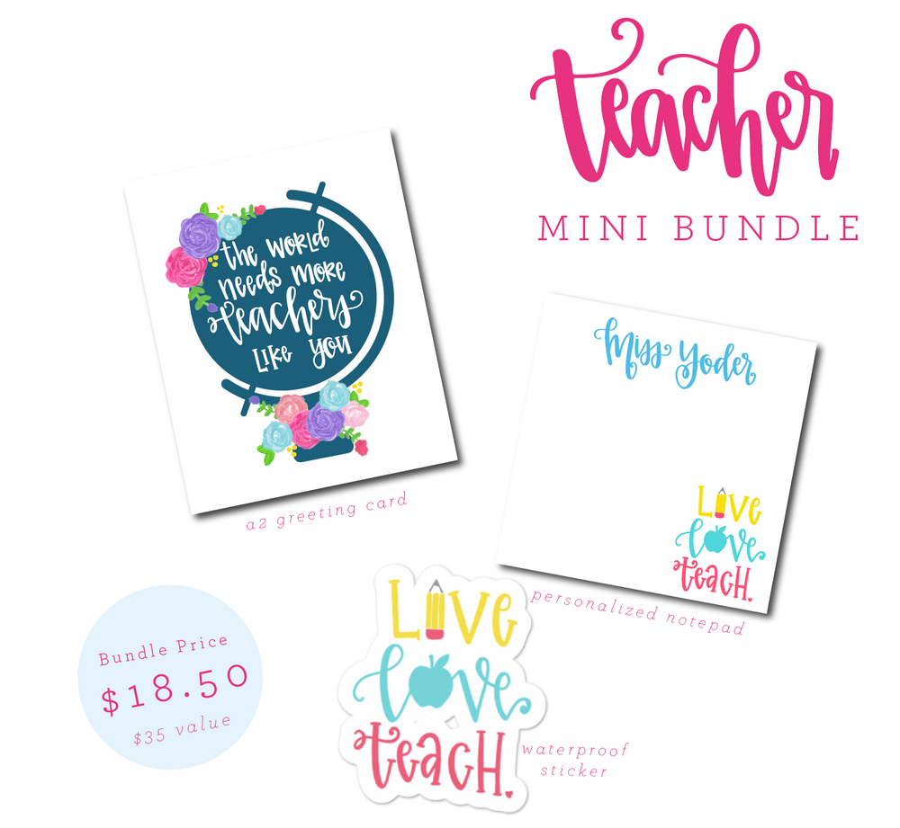 Teacher Appreciation Mini Bundle