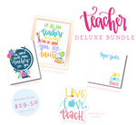 Teacher Appreciation Deluxe Bundle