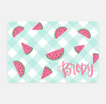Personalized Summer Pet Placemat