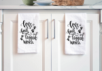 Four Legged Word Tea Towel