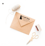 Classic Pet Silhouette Return Address Stamp