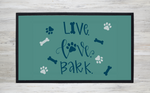 Live Love Bark Floor Mat