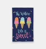 Personalized Ice Cream Garden Flag