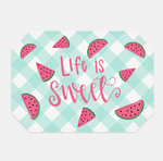 Life is Sweet Watermelon Placemats