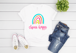 Choose Happy Rainbow Short Sleeve Tee