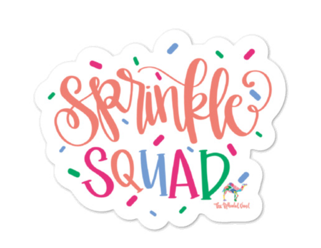 Sprinkle Squad Sticker