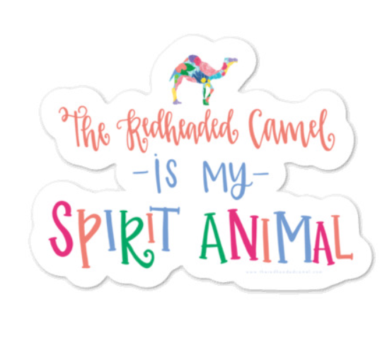 Spirit Animal Sticker