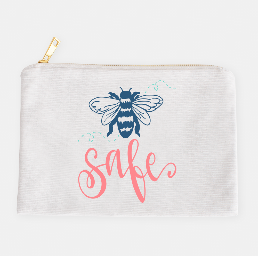 Bee Safe COVID Kit Zipper Pouch