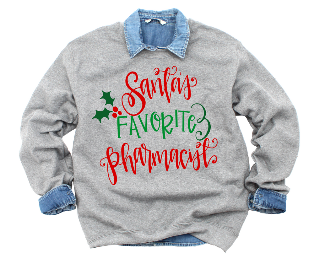 Santa's Favorite Pharmacist Tee