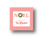 Noel Personalized Gift Label