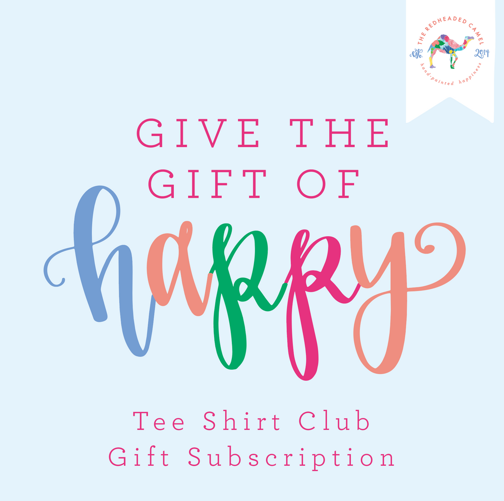 Tee Shirt Club Gift Subscription