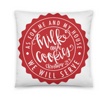Milk and Cookies 24:7 Pillow