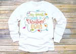 Christmas Lights Adult Tee