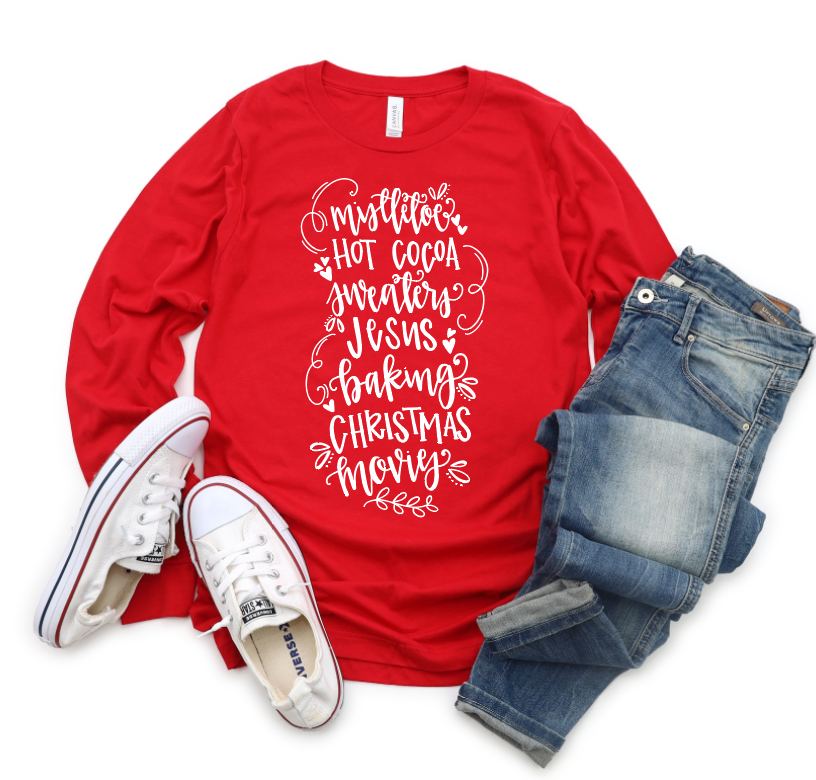 Christmas Favorites Adult Tee