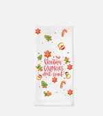 Christmas Calories Tea Towel
