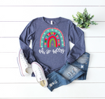 Oh-So Merry Christmas Rainbow Tee - BTBF Exclusive