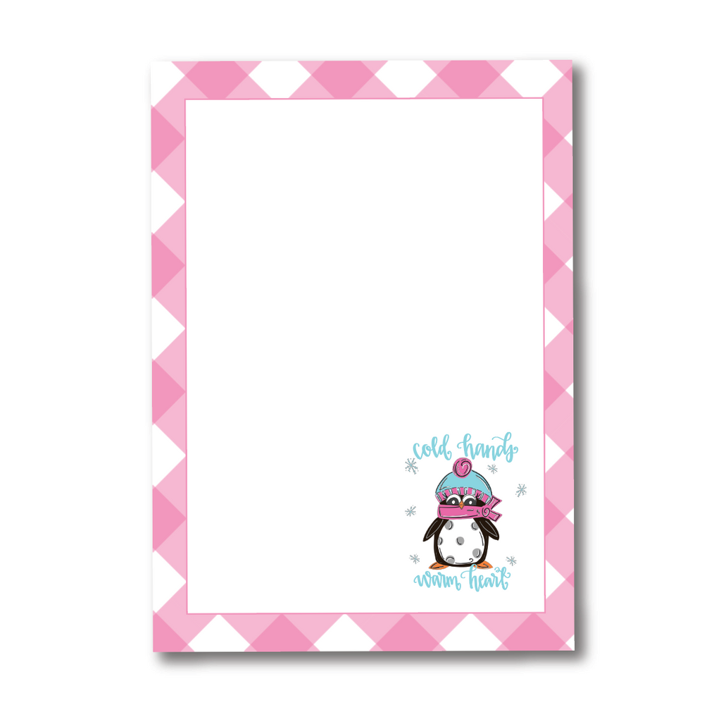 Cold Hands Warm Heart Notepad