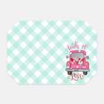 Loads of Love Gingham Placemat