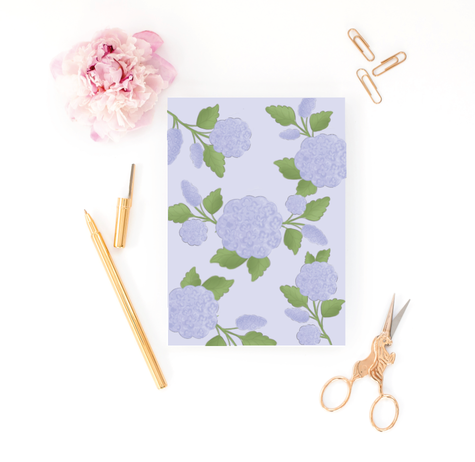 Happy Hydrangea Greeting Card