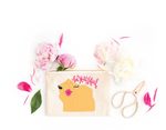 BeYOUtiful Kissing Camel Zip Pouch