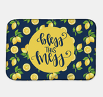 Bless this Mess Lemon Drying Mat