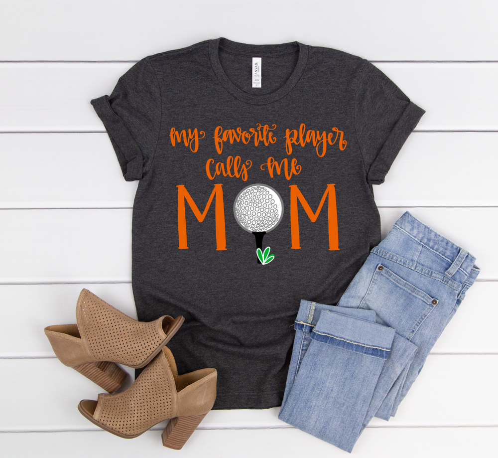 Golf Mom Short Sleeve Tee