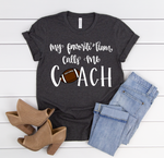 Football Coach Short Sleeve Tee