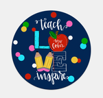 Teach Love Inspire Personalized Mousepad