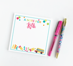 Lunchbox Love Notes Notepad
