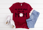 Baseball Mom Short Sleeve Tee