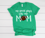 Football Mom Short Sleeve Tee