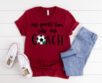 Soccer Coach Short Sleeve Tee
