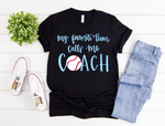 Baseball Coach Short Sleeve Tee