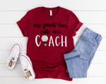 Golf Coach Short Sleeve Tee