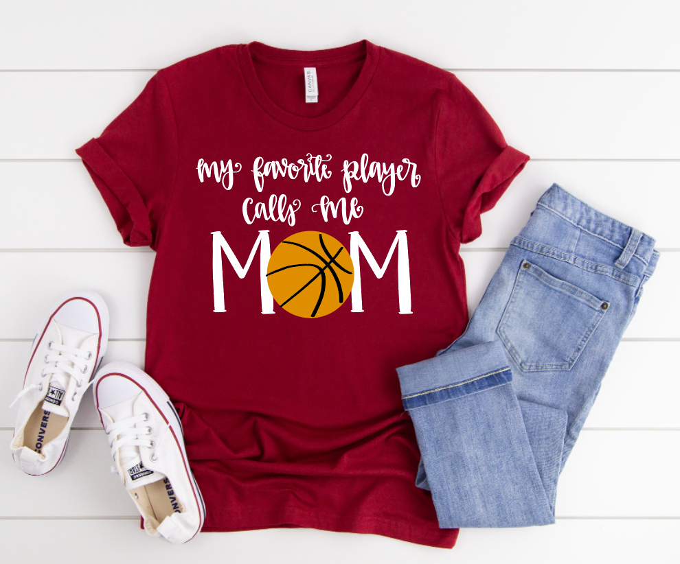 Basketball Mom Short Sleeve Tee