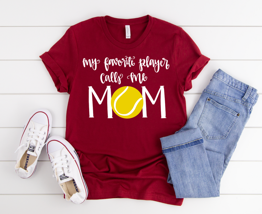 Tennis Mom Short Sleeve Tee