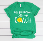 Tennis Coach Short Sleeve Tee