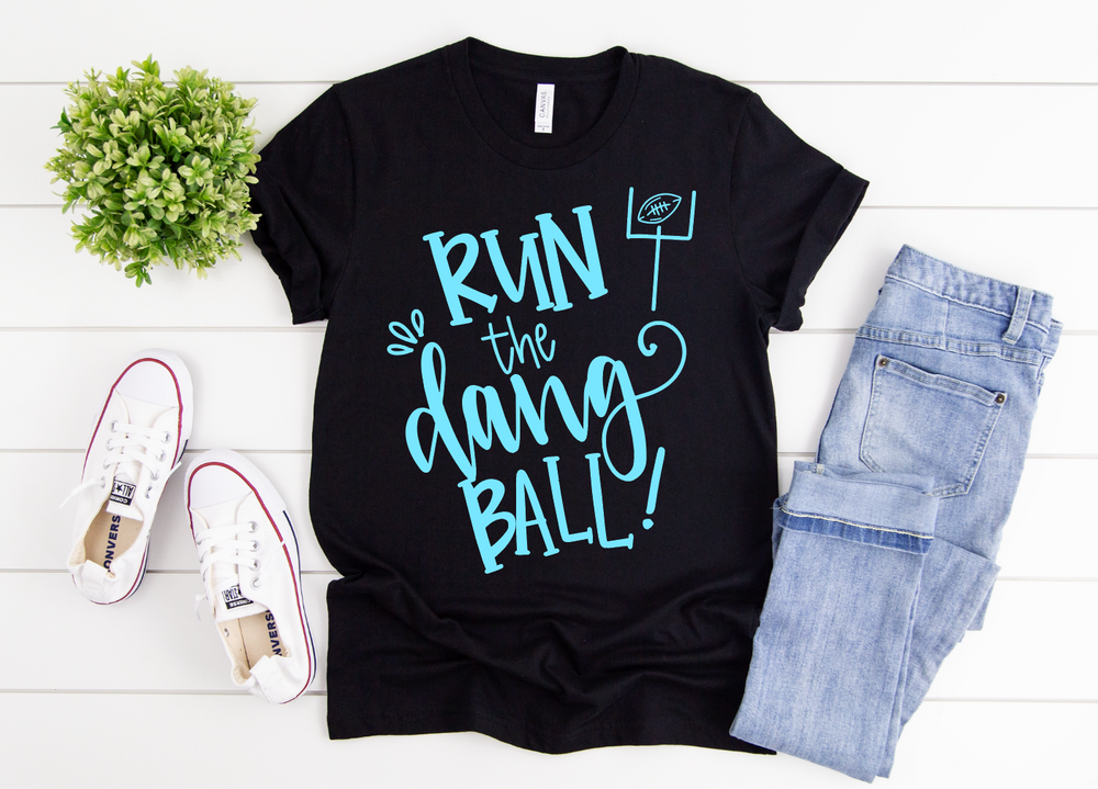 Run the Dang Ball Youth Short Sleeve Tee