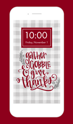 Gather Gobble and Give Thanks Tech Freebie