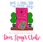 The Redheaded Camel's Door Hanger Club