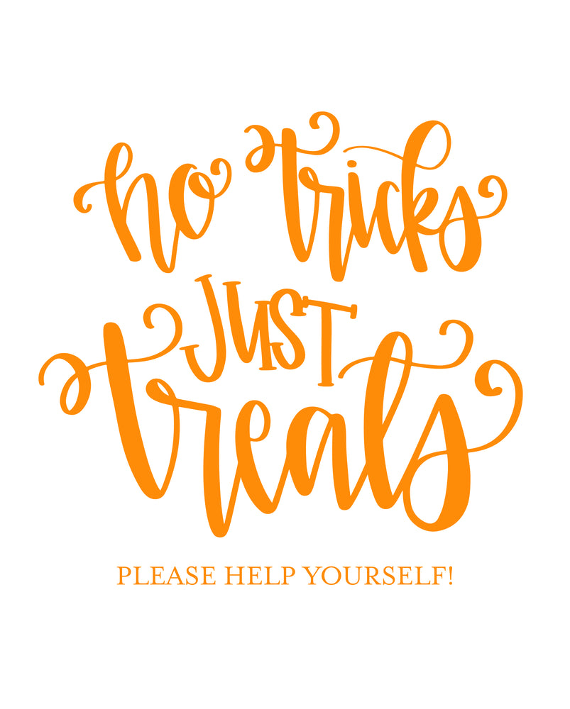 Trick or Treat Printable Freebie