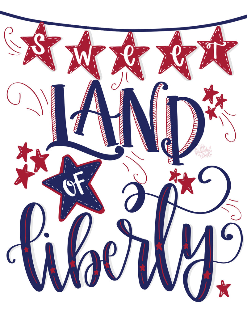 Liberty Printable Freebie