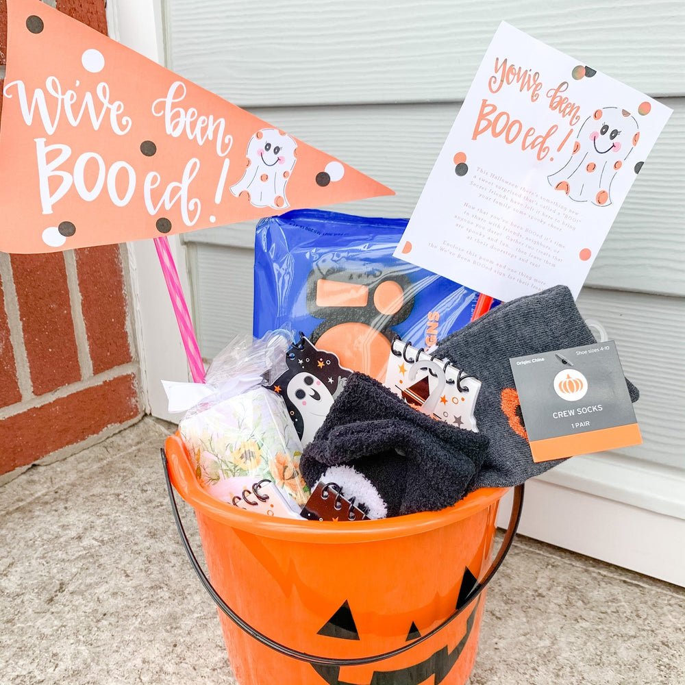 October Printable 'You've Been Booed' Freebies!