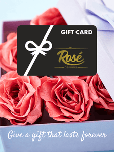 Rosé Design electronic gift card