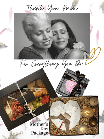Mother's Day Package Charcuterie Chocolate Rose